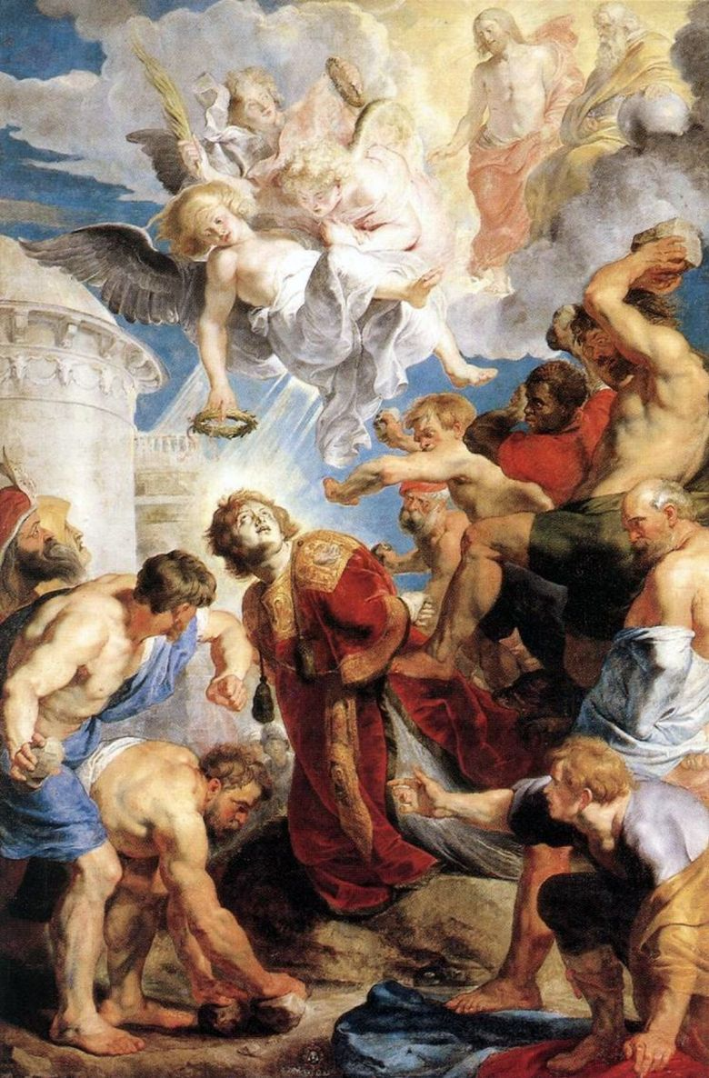 The Martyrdom of St. Stephen   Peter Rubens