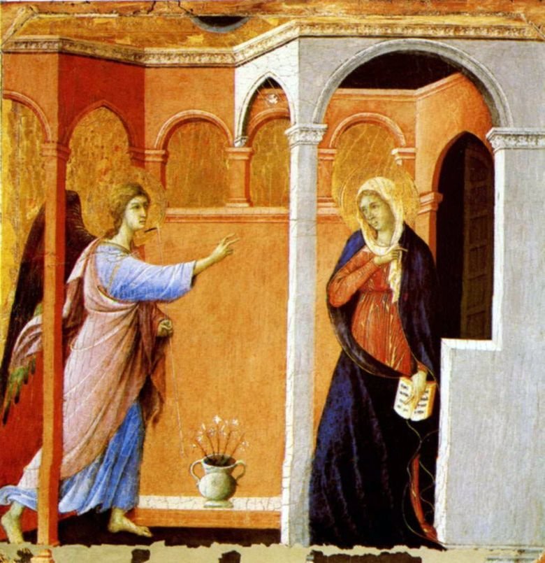 The Annunciation   Duccio di Buoninsenia