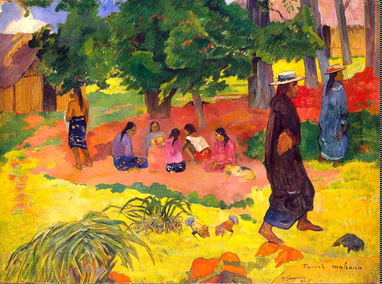 Sore hari   Paul Gauguin
