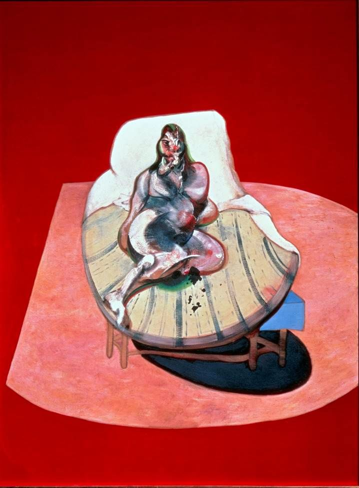 Henrietta Moraes di Red   Francis Bacon