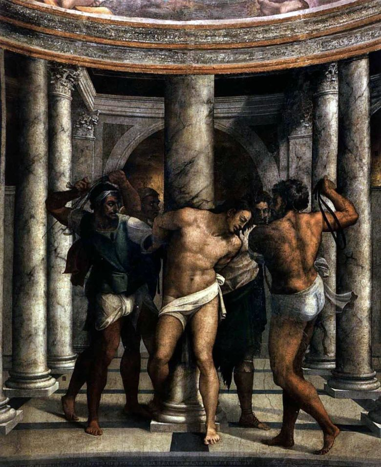 Piombo. The Flagellation of Christ   Michelangelo Merisi da Caravaggio