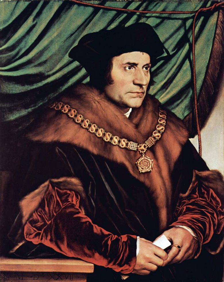 Thomas More   Hans Holbein
