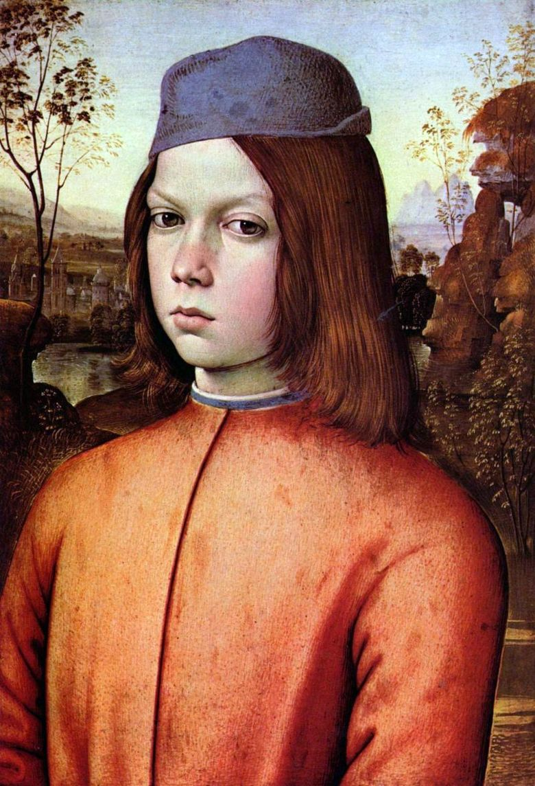 Portrait of a Boy   Pinturicchio