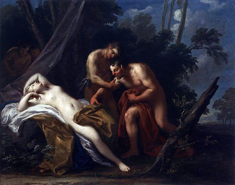 Satyr and the Sleeping Nymph   Jacopo Amigoni