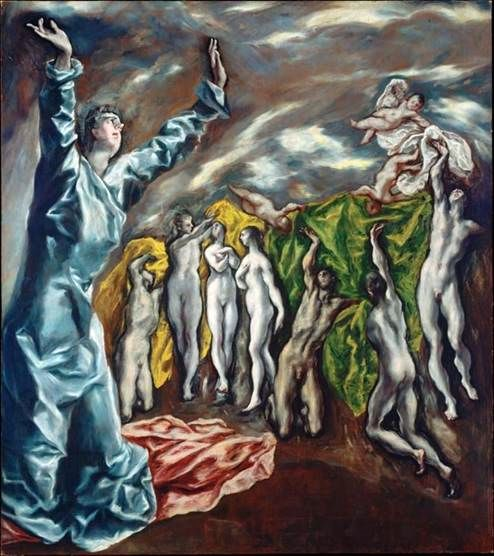 The Drinking, or Mourning of Christ   El Greco