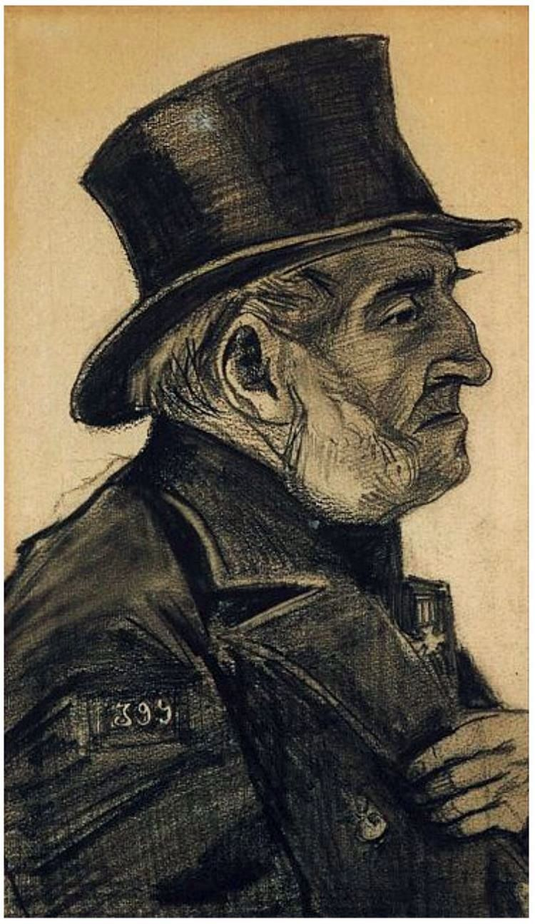 The Man from the Shelter, di Top Hat   Vincent Van Gogh