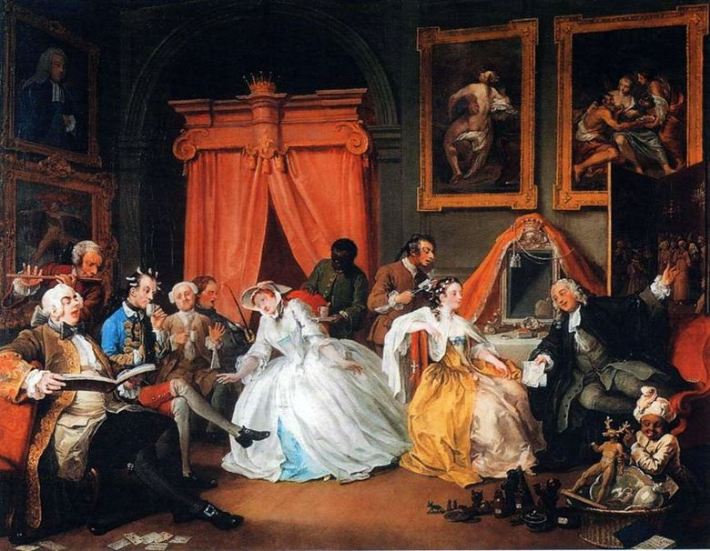 Kamar Kerja Countess   William Hogarth