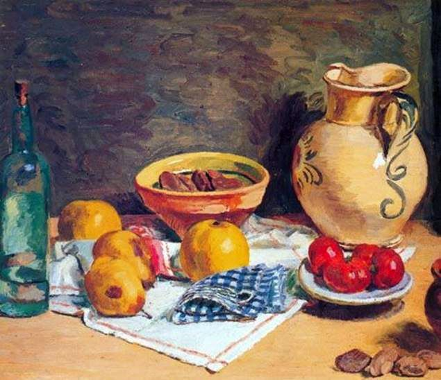 Still Life with a Jug   Vanessa Bell