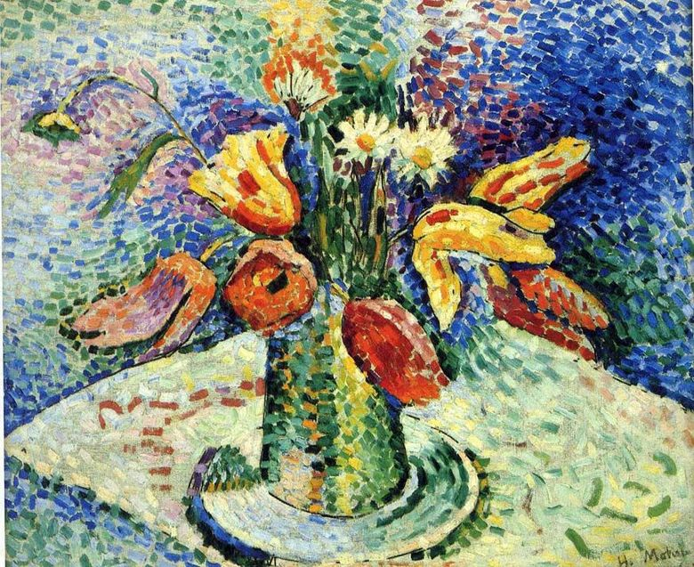 Still Life with a Bouquet   Henri Matisse