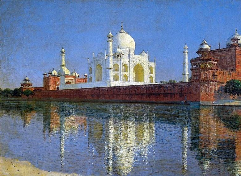 Mausoleum Taj Mahal di Agra   Vasily Vereshchagin