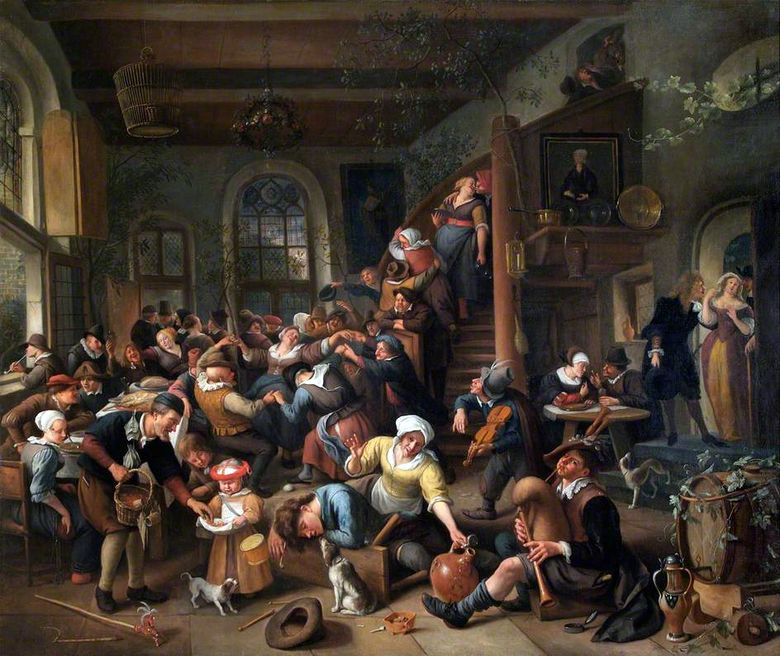 Egg Dance   Jan Steen