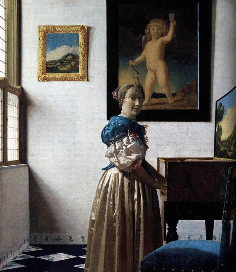 Virgin Lady   Jan Vermeer