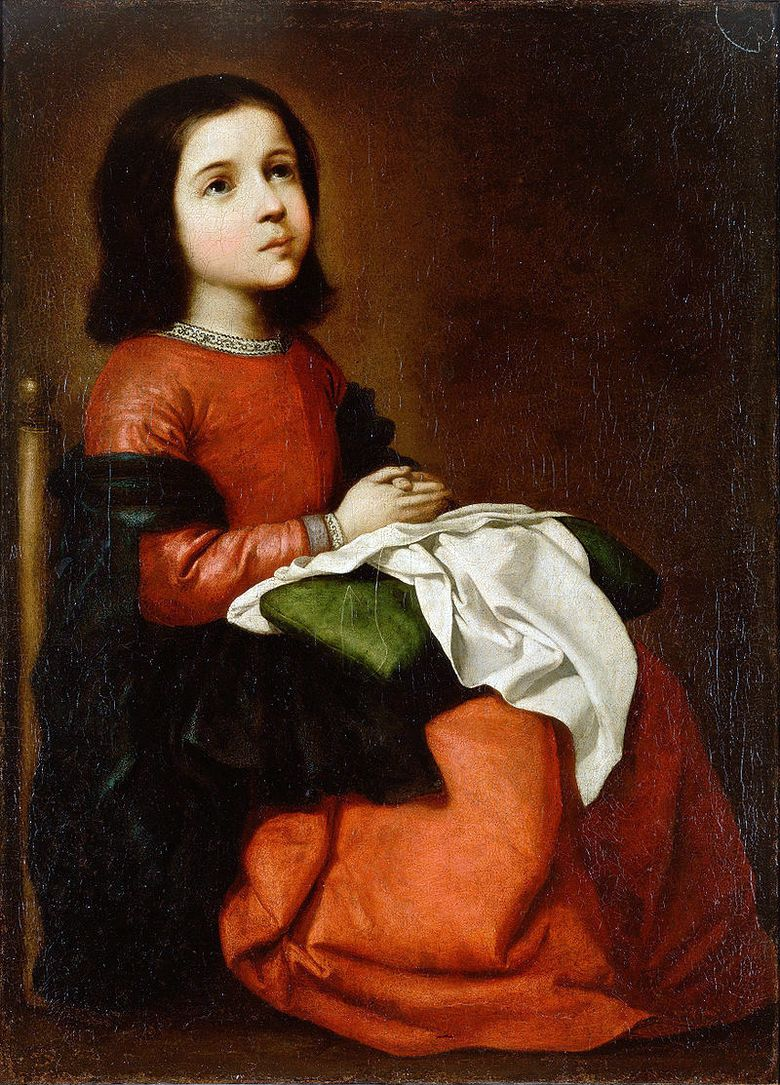 Adolescence of Our Lady   Francisco de Zurbaran