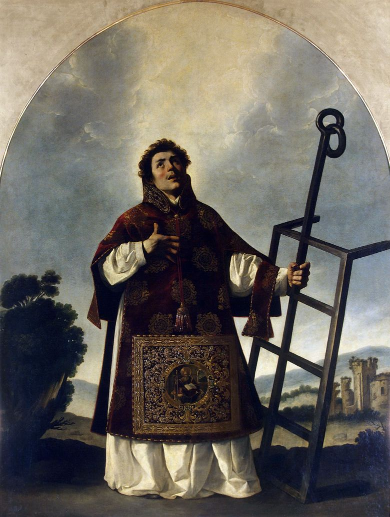 Saint Lawrence   Francisco de Zurbaran