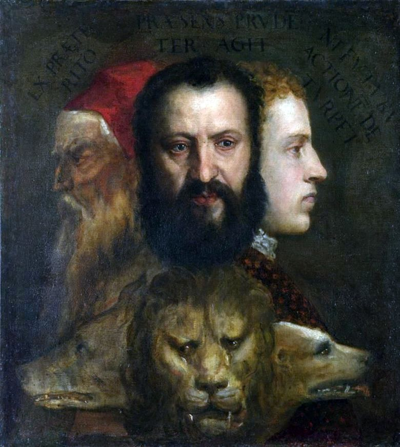Allegory of Prudence   Titian Vecellio