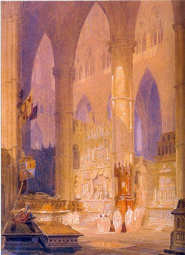 Katedral Caen   William Turner