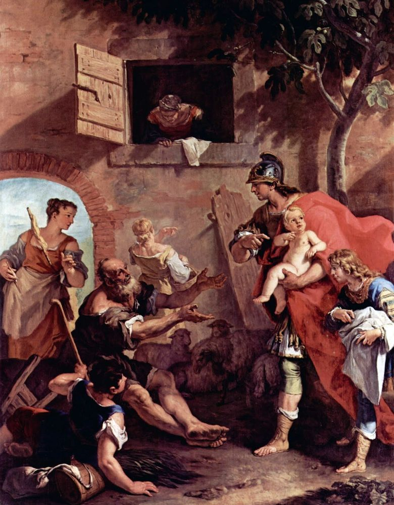 King Cyrus Childhood   Sebastiano Ricci