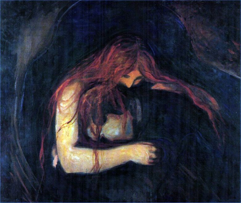 Vampir   Edward Munch