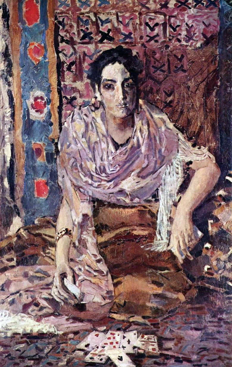 Fortuneteller   Mikhail Vrubel